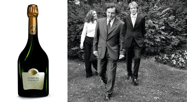 Cuvée Comtes de Champagne - Vitalie, P-Emmanuel et Clovis Taittinger – creditCabrelli-BD