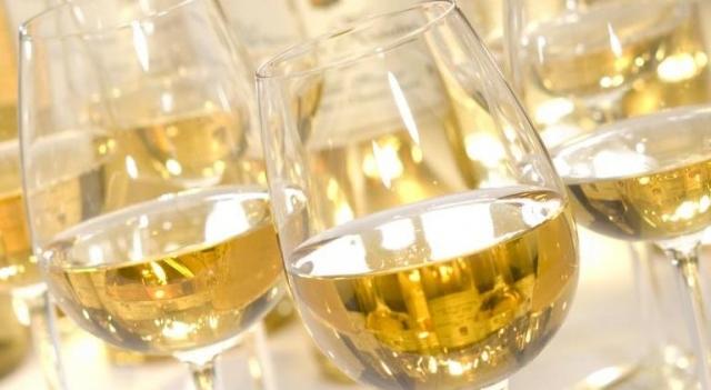 Verres de vins liquoreux du Bordelais