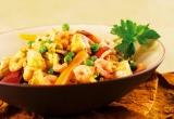 Accords mets & vins - Riz à l'espagnole (poulet et crevettes)
