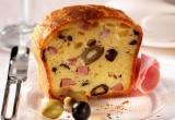 Accords mets & vins - Cake aux olives et au jambon