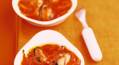 Accords mets & vins - Cassolettes de moules au safran
