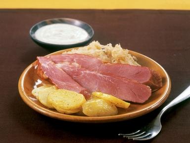 Accords mets & vins - Palette de porc fumée au raifort