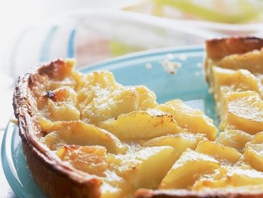 Accords mets & vins - Tarte aux pommes à la normande