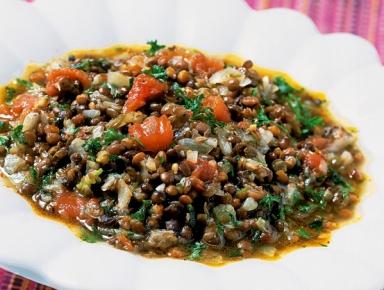 Accords mets & vins - Lentilles à la tomate