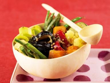 Accords mets & vins - Curry de légumes