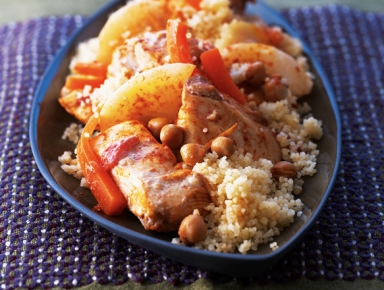 Accords mets & vins - Couscous de poulet mariné