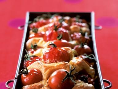 Accords mets & vins - Cake aux noix de Saint-Jacques et tomates-cerises