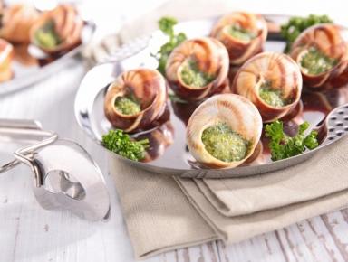 Accords mets & vins - Escargots à l'ail