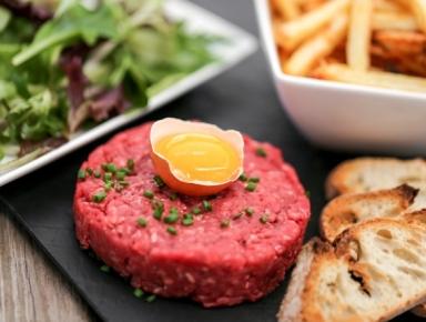 Accords mets et vins - Tartare de bœuf