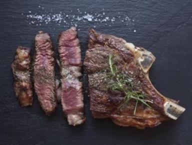 Accords mets & vins - Côte de bœuf grillée