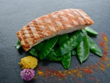 Accords mets & vins - Pavé de saumon grillé