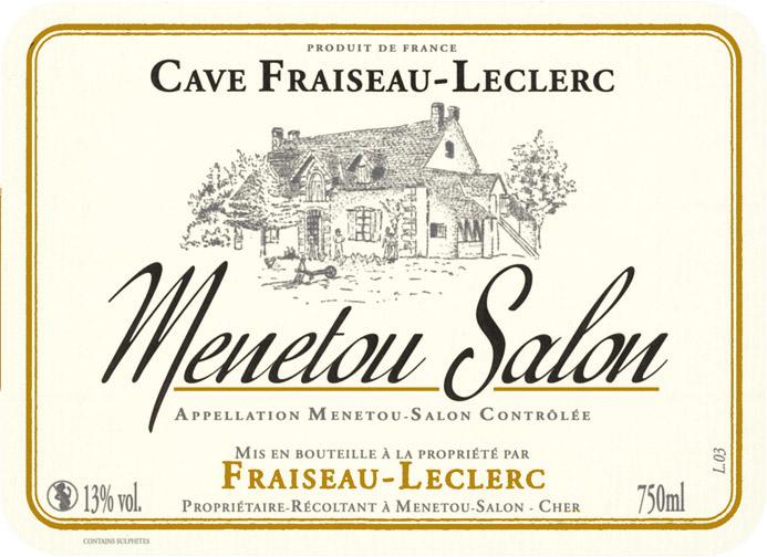 vin blanc cave fraiseau leclerc 2011 menetou salon. Black Bedroom Furniture Sets. Home Design Ideas
