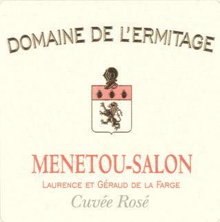 Vin ros domaine de l 39 ermitage 2015 menetou salon - Menetou salon domaine de l ermitage ...