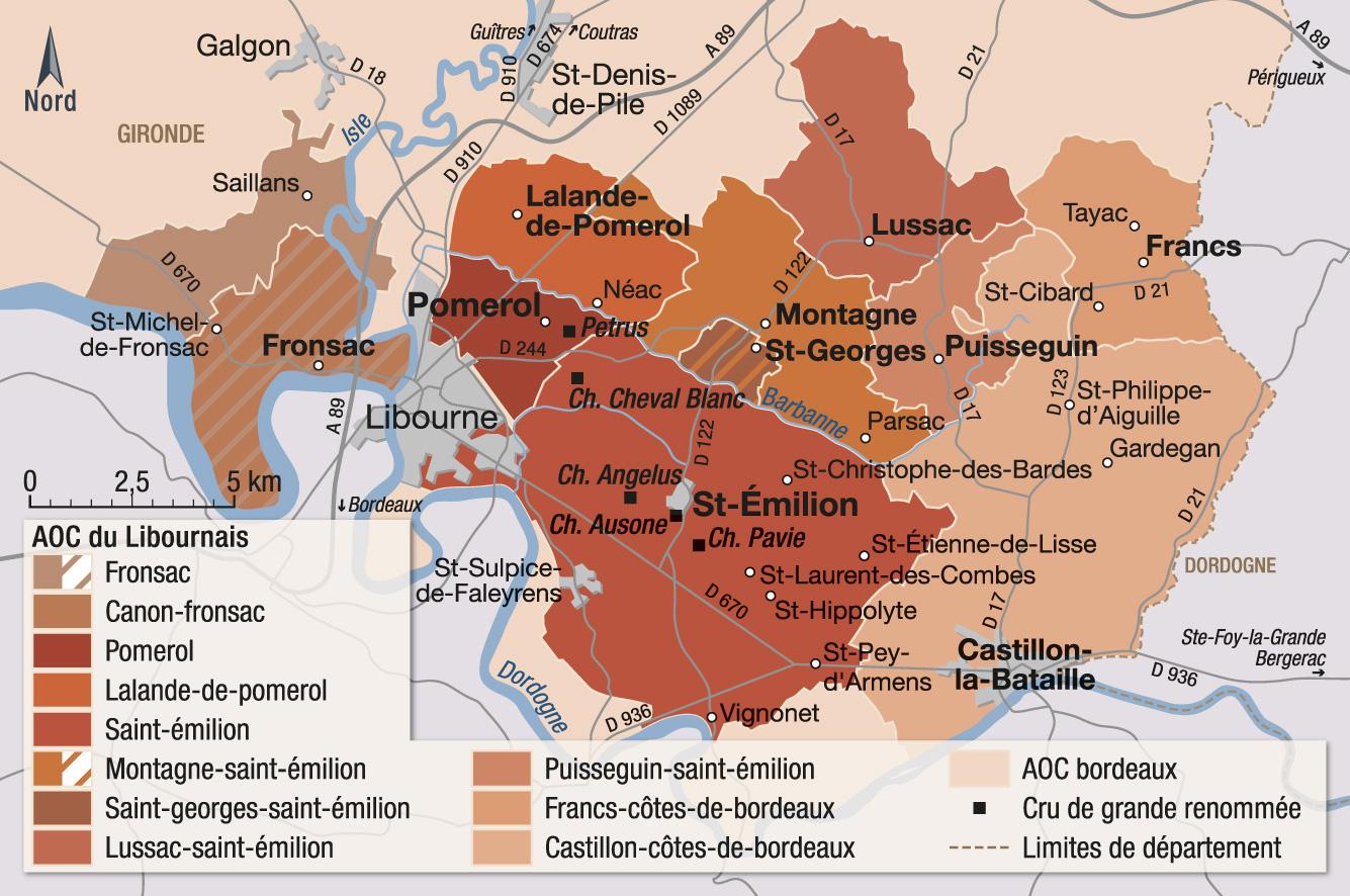 Carte Des Vins De Bordeaux Rive Droite.Vins Et Appellations Du Libournais Guide Hachette Des Vins